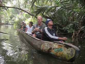 Canoeing Activity, Ujung Kulon Tour